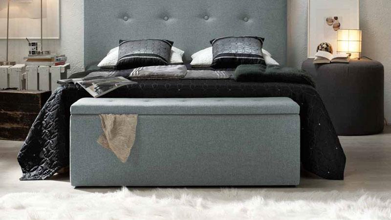 Banco de dormitorio bancos de dormitorios y pie de cama - Pie de cama ...