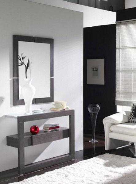 Recibidor L-2100 - Recibidor + Espejo L-2100