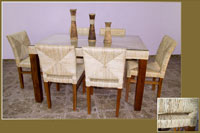 Mesa de comedor o silla en Ratán J804/J806 - Mesa de comedor o silla en Ratán J804/J806