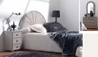 Dormitorio de ratan Modelo 560