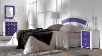 Dormitorio de ratan Modelo 360