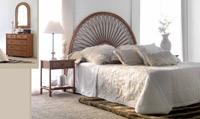 Dormitorio de ratan Modelo 950