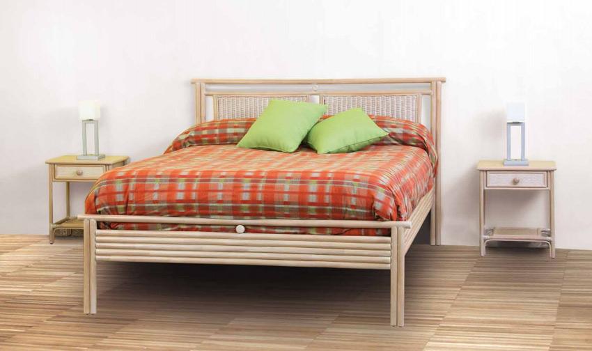 Dormitorio de ratan Modelo J830 - Dormitorio de ratan Modelo J830