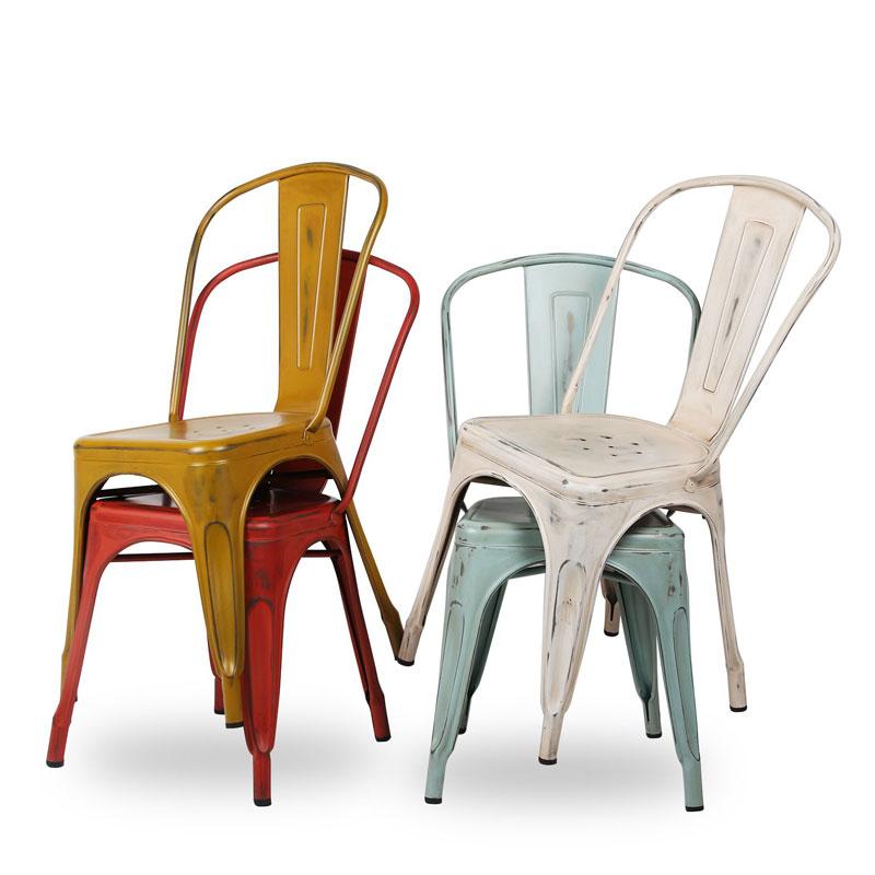 DEC silla tolix envejecido 1 - Cinco modelos de sillas de diseño que deberías conocer