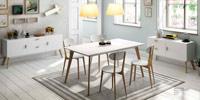 Mesa de comedor DT900 o sillas CH900 o Aparador W900 o W901 DUGAR