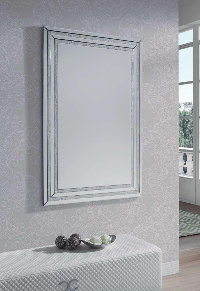Espejo Cuadrado E-118 - Espejo Cuadrado E-118