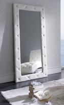 Bonito espejo vestidor - Precioso espejo vestidor con botones