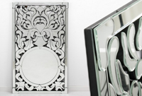 Espejo Veneciano Leide - Espejo Veneciano Leide fabricado en Cristal