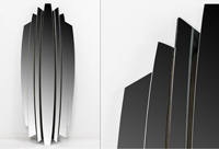 Espejo Veneciano Golum - Espejo Veneciano Golum fabricado en Cristal
