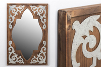 Espejo Tanger - Espejo Tanger fabricado en MADERA + METAL