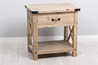 Mesita Corsica - Mesita Corsica fabricado en madera de Paulownia + MDF