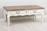 Mesa de Centro Villette - Mesa de Centro Villette fabricado en madera de Paulownia + MDF