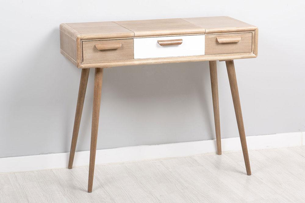 Tocadores de madera tocador de madera con cajones muebles - Mueble tocador moderno ...