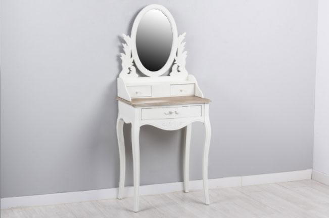 Tocador con espejo 3C - Tocador con espejo 3C, fabricado en madera