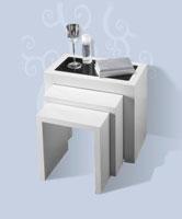 Mesas Nido 1019 - Mesas nido 1019, Fabricado en materiales de alta calidad y excelentes acabados