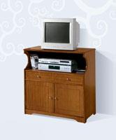 Mesa de TV Clásica 414 - Mesa de TV Clásica 414, Fabricado en materiales de alta calidad y excelentes acabados