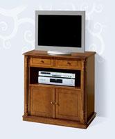 Mesa de TV Clásica 416 - Mesa de TV Clásica 416, Fabricado en materiales de alta calidad y excelentes acabados