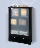 Estantería con puerta de cristal 823 - Estantería con puerta de cristal 823, Fabricado en materiales de alta calidad y excelentes acabados