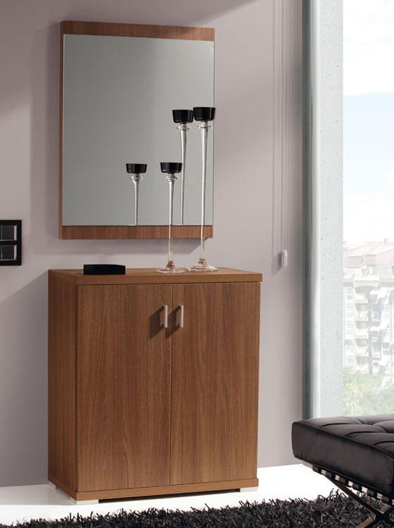 Zapatero 501 o Espejo 811 - Zapatero o espejo de diseño  moderno y actual