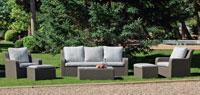 Set muebles para exteriores LUA - Muebles de Rattan de lujo con resistencia garantizada