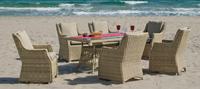 Set mesa de comedor para exteriores Cisne 160 - Set de comedor con resistencia garantizada y acabado de lujo Cisne 160