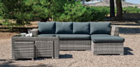 Set muebles de lujo para exteriores 14 - Muebles robustos con resistencia garantizada