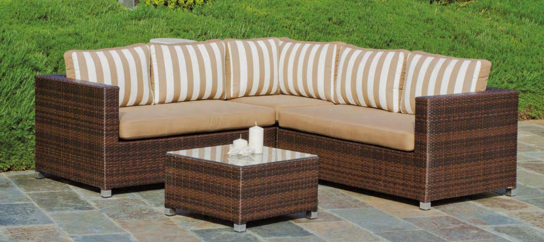 Mia home set muebles de lujo para exteriores ainara - Muebles para exteriores ...