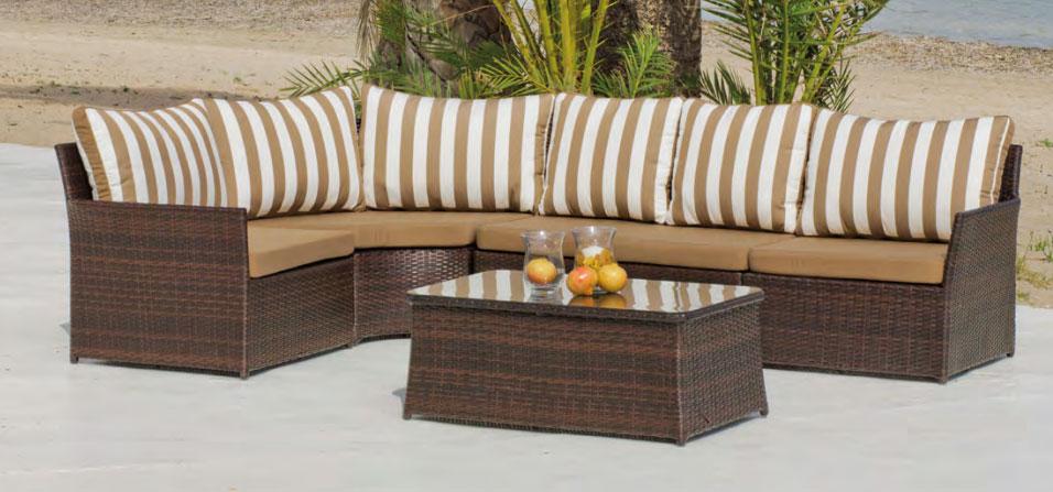 Set muebles de lujo para exteriores Algarve - Set muebles de lujo para exteriores Algarve