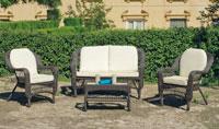 Set muebles de lujo para exteriores Crosbi - Set muebles para exteriores Crosbi