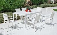 Set mesa de comedor para exteriores Eskada