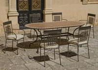 Set sillas o mesa mosaico modelo Altamira/Vigo 200 - Set sillas o mesa mosaico modelo Altamira/Vigo 200