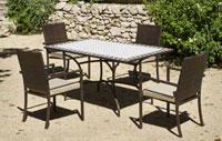 Set sillas o mesa mosaico modelo Atrium/Bahia 150