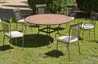 Set sillas o mesa mosaico modelo Belice/Vigo 140 - Set sillas o mesa mosaico modelo Belice/Vigo 140