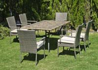 Set sillas o mesa mosaico modelo Edna/Mali 160 - Set sillas o mesa mosaico modelo Edna/Mali 160