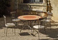 Set sillas o mesa mosaico modelo Lorny/Vigo 120 - Set sillas o mesa mosaico modelo Lorny/Vigo 120