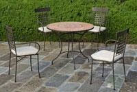 Set sillas o mesa mosaico modelo Priscila/Vigo 90 - Set sillas o mesa mosaico modelo Priscila/Vigo 90