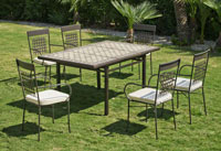 Set sillas o mesa mosaico modelo Vimera/Vigo 100/150 - Set sillas o mesa mosaico modelo Vimera/Vigo 100/150