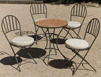 Set sillas o mesa mosaico modelo Aviñon 60 - Set sillas o mesa mosaico modelo Aviñon 60