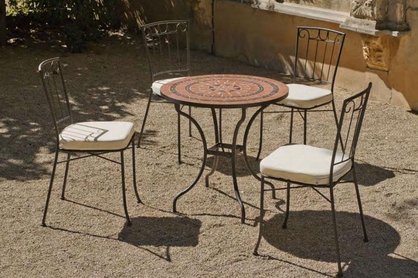 Set sillas o mesa mosaico modelo Caiman/Azara 75