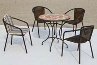 Set sillas o mesa mosaico modelo Eyre/Brasil 75 - Set sillas o mesa mosaico modelo Eyre/Brasil 75