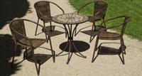 Set sillas o mesa mosaico modelo Manila/Brasil 60 - Set sillas o mesa mosaico modelo Manila/Brasil 75