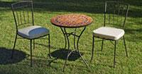 Set sillas o mesa mosaico modelo Oberoy/Azara 60 - Set sillas o mesa mosaico modelo Oberoy/Azara 60