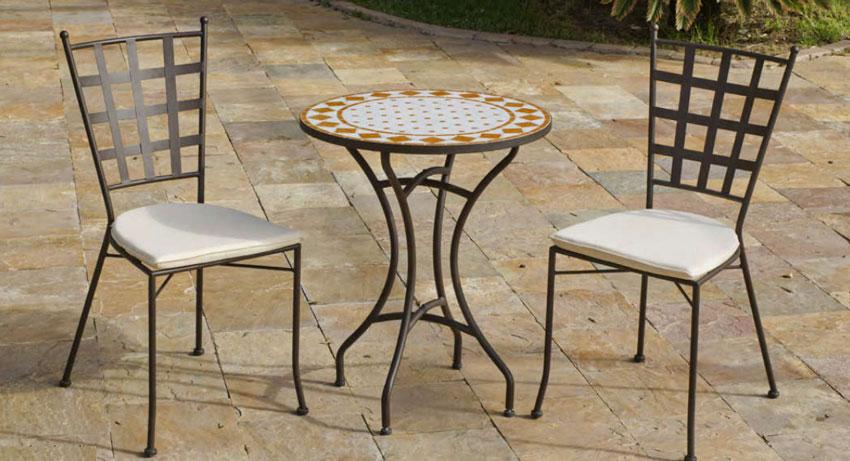 Set sillas o mesa mosaico modelo Salamanca/Neus 75 - Set sillas o mesa mosaico modelo Salamanca/Neus 75