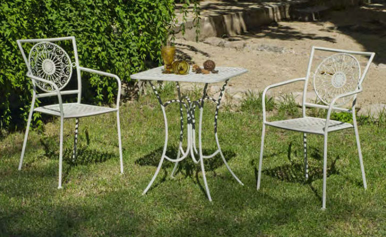 Set de sillon y mesa para exteriores Veracruz 60 - Set de sillón y mesa para exteriores Veracruz 60