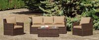 Set muebles de lujo para exteriores Modena - Set muebles de lujo para exteriores Modena
