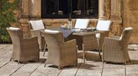 Mesa de comedor de lujo para exteriores Malta - Mesa de comedor de lujo para exteriores Malta