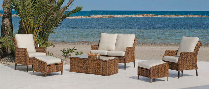 Mia home set muebles de lujo para exteriores panama for Muebles para exteriores baratos