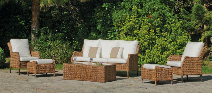 mia home Set muebles de lujo para exteriores Panama 2