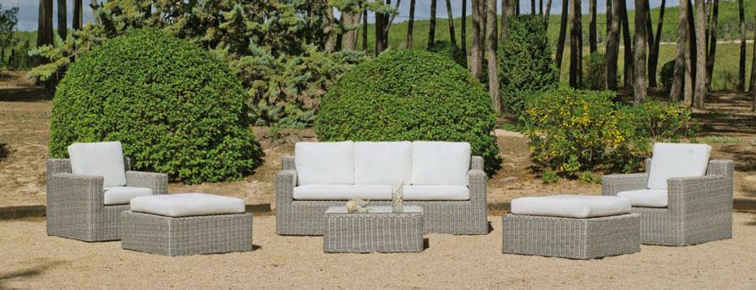 Set muebles de lujo para exteriores Chanty - Set muebles de lujo para exteriores Chanty