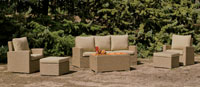 Set muebles de lujo para exteriores Noha - Set muebles de lujo para exteriores Noha